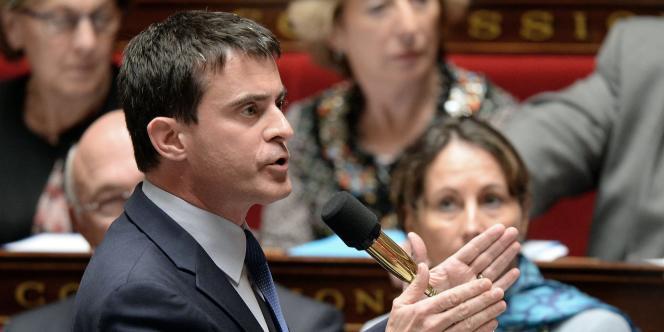 Manuel Valls, le 27 mai à l'Assemblée nationale.