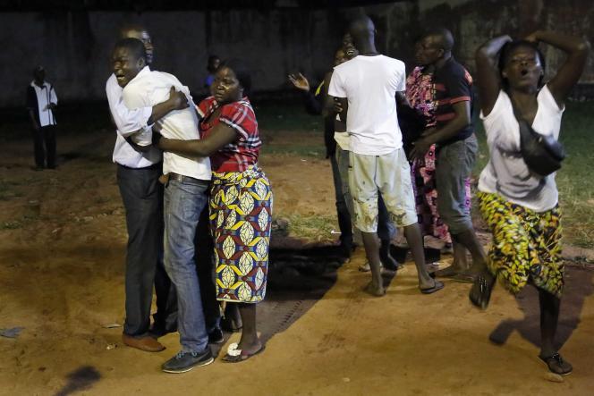 Près de l'église de Bangui, le 28 mai.