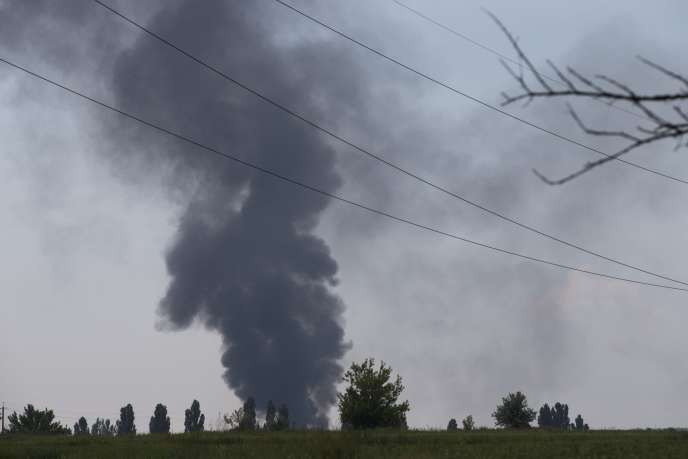 «Quatorze militaires sont morts, dont le général Koultchitski», a annoncé le président par intérim Olexandre Tourtchinov.