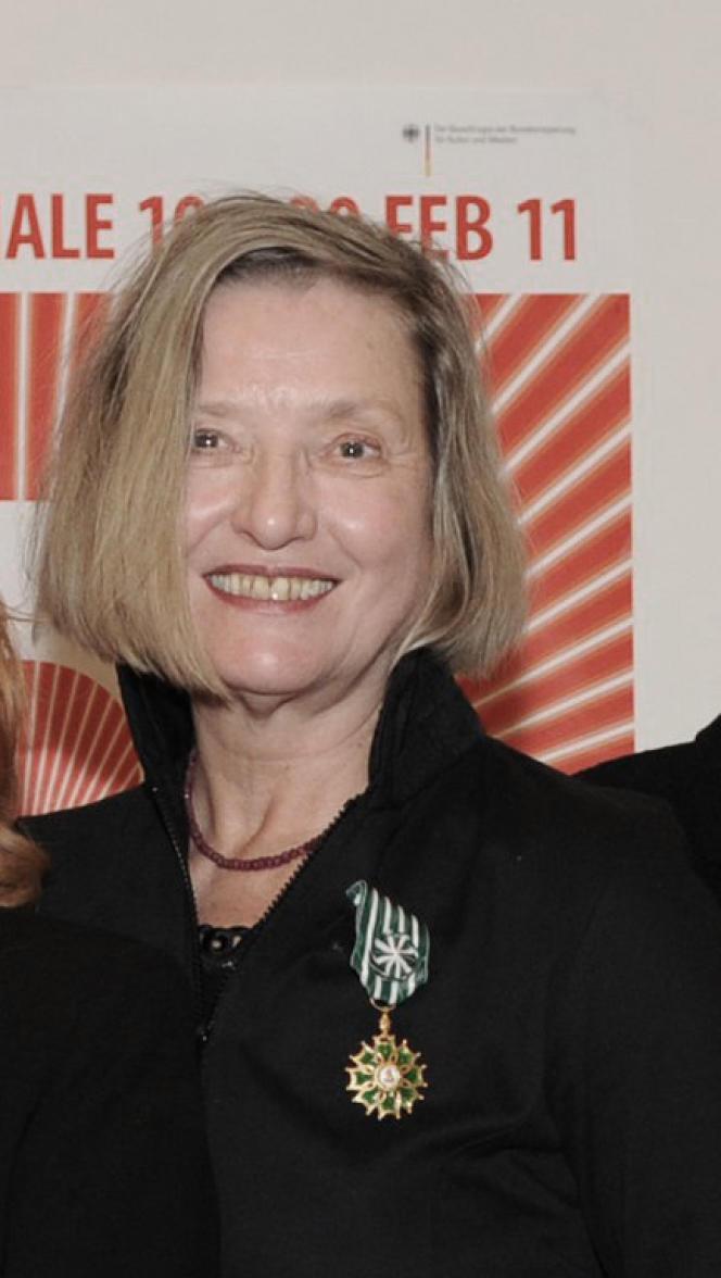 Helma Sanders-Brahms à la Berlinale, en 2011.