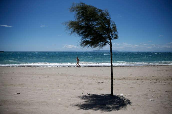 Une plage en Grèce, le 30 mai.