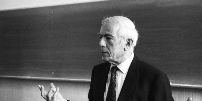 Maurice Agulhon, en 1993.