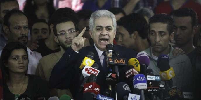 Hamdine Sabahi, le 29 mai au Caire.