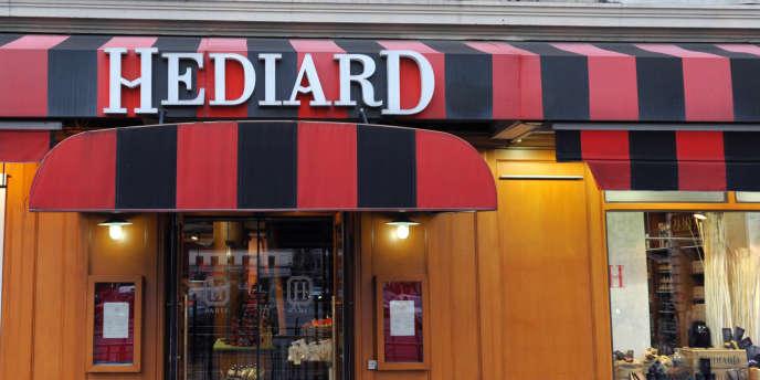 L'épicerie fine Hediard s'est installée en 1870 place de la Madeleine, vers les Grands Boulevards, lieu parisien hautement stratégique de l'époque.