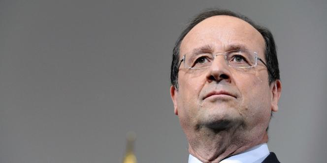 François Hollande le 31 mai.