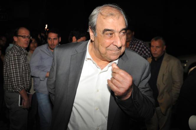 Michel Kilo, le 30 mai à Istanbul.