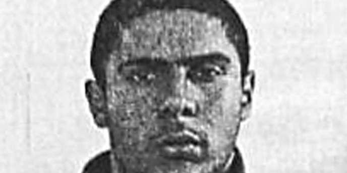 Mehdi Nemmouche, soupçonné d'avoir tué quatre personnes au Musée juif de Belgique, à Bruxelles, le24mai.