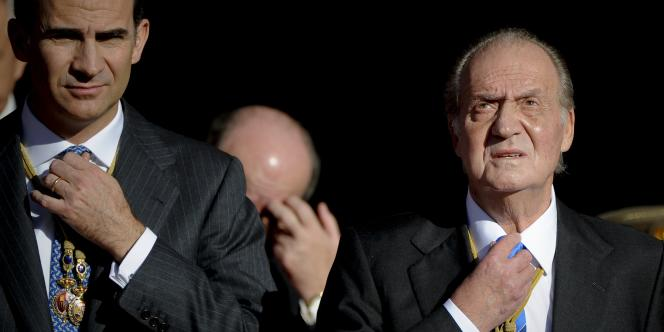 Le prince Felipe prendra la succession de son père, le roi Juan Carlos.