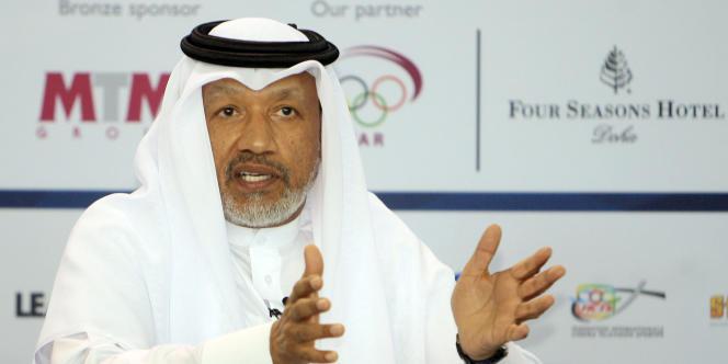 Mohamed Bin Hammam, ici en novembre 2010 avant sa destitution de la vice-présidence de la FIFA.