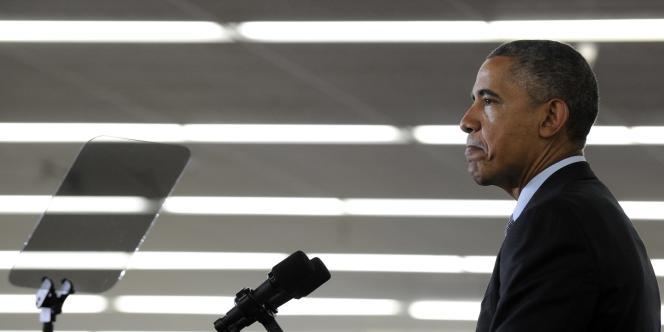 Barack Obama, le 9 mai à Mountain View, en Californie.