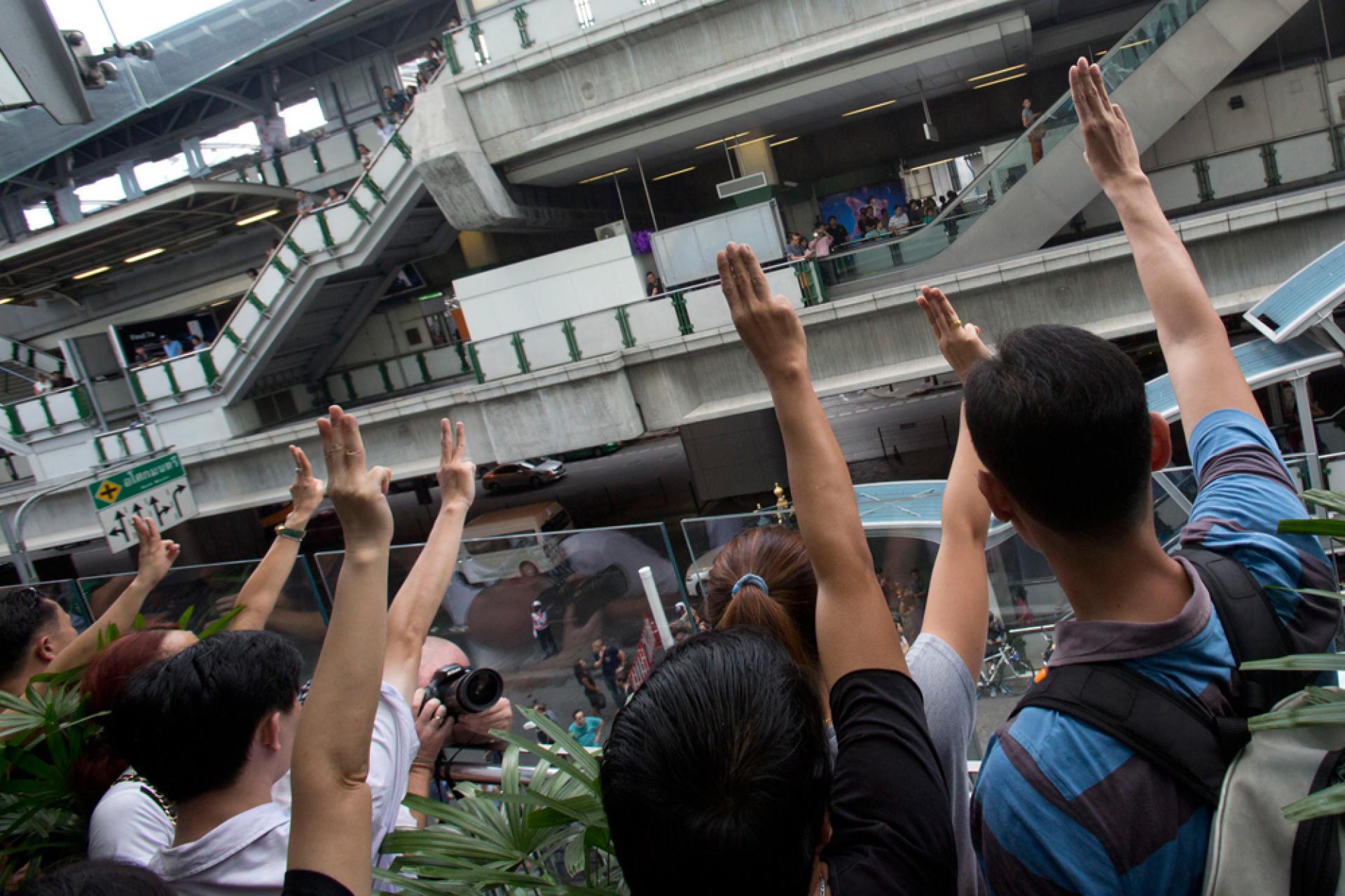 Manifestation à Bangkok, le 1er juin.