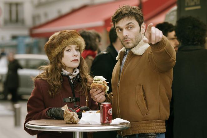 Isabelle Huppert et Pio Marmaï dans le film français de Marc Fitoussi,