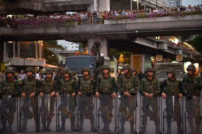 A Bangkok, le 26 mai 2014.