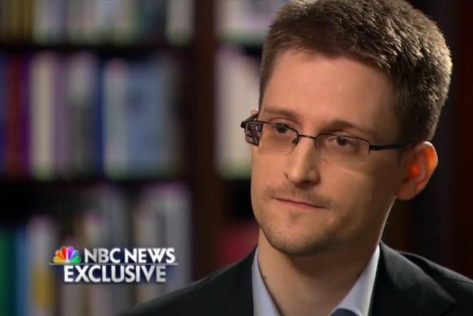 Interview exclusive d'Edward Snowden par NBC, le 28 mai.