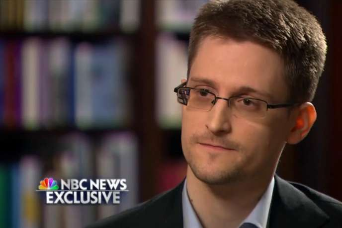 Interview exclusive d'Edward Snowden par NBC, le 28 mai.