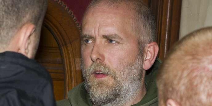 Le Norvégien d'extrême droite Kristian Vikernes a comparu mardi 3 juin devant le tribunal correctionnel de Paris.
