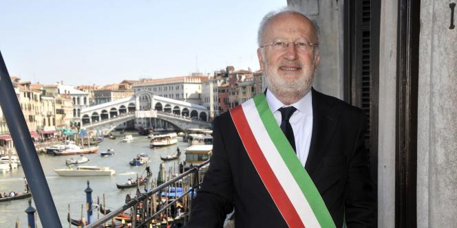Giorgio Orsoni, maire de Venise interpellé mercredi 4 juin.