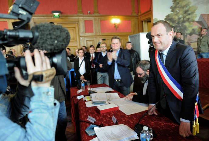 Steeve Briois, le maire d'Hénin-Beaumont.
