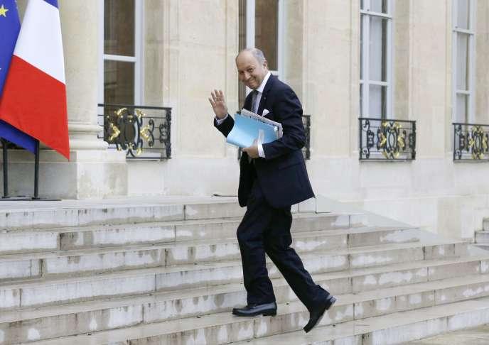 Laurent Fabius, le 26 mai à Paris.