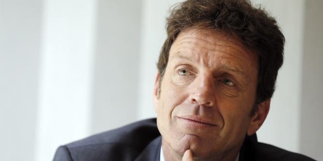 Geoffroy Roux de Bezieux, vice-président du Medef.