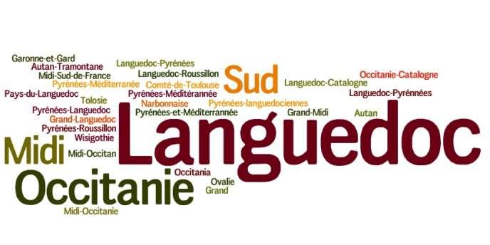 Les propositions de nom pour la future région qui regroupera Midi-Pyrénées et Languedoc-Roussillon.