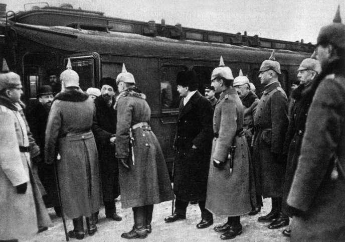 Guerre 14/18. Brest-Litovsk le 22 décembre 1917.