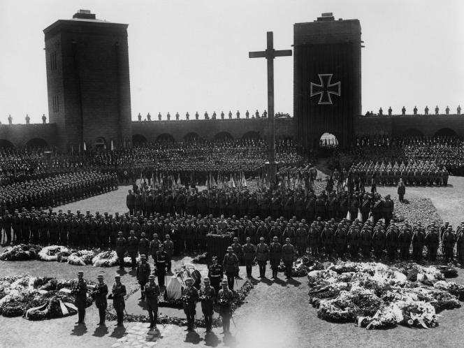 Guerre 14/18. Le Monument commémoratif de la bataille de Tanneberg
