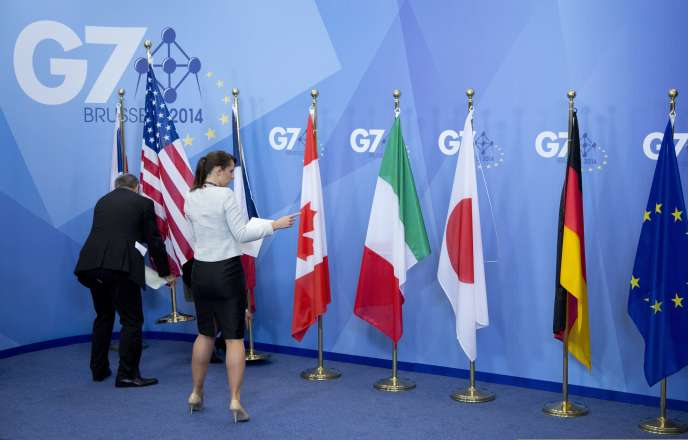 Sommet du G7 à Bruxelles, le 5 juin 2014.