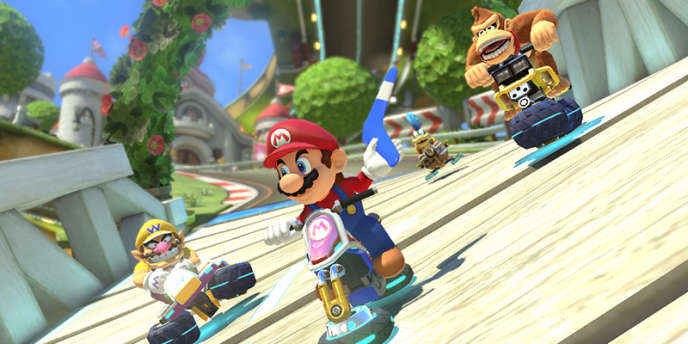 Hilarant et relativement facile à prendre en main,« Mario Kart 8» est un jeu idéal pour jouer à plusieurs, même à distance.