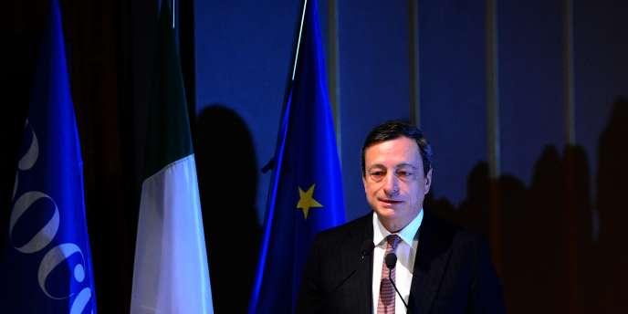 Le président de la BCE, Mario Draghi, le 15 novembre à Milan.