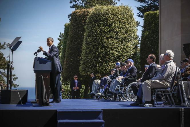 Barack Obama lors de son discours du 6 juin.