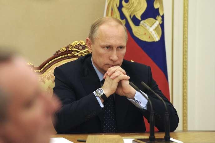 Vladimir Poutine, le 28 mai à Moscou.