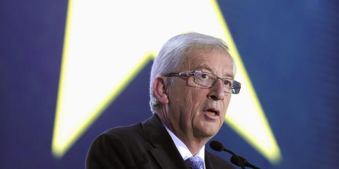 Jean-Claude Juncker, à Bruxelles, le 25 mai.