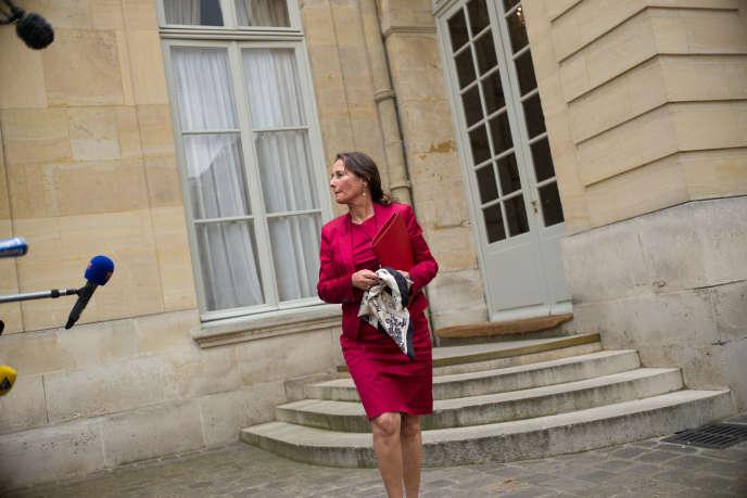 La ministre de l'écologie Ségolène Royal, à Matignon, le 30 mai.