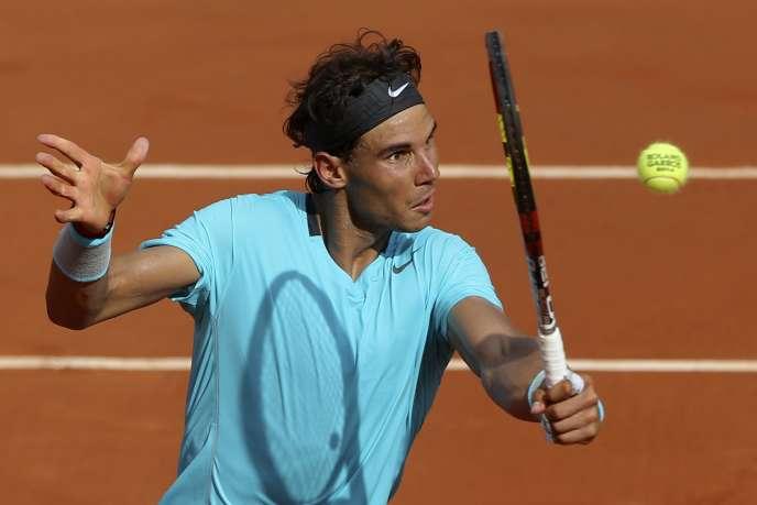 Rafael Nadal, le 8 juin à Roland-Garros.