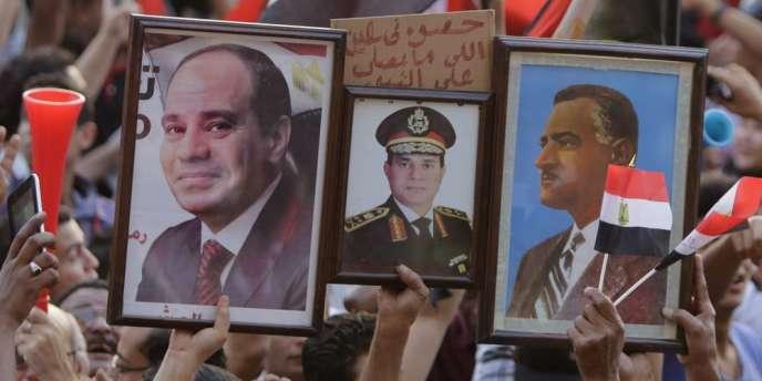 Plusieurs organisations internationales de défense des droits de l'homme s'inquiètent d'un régime « plus autoritaire » que celui de Moubarak par l'ex-chef de l'armée, élu avec 96,9 % des voix.