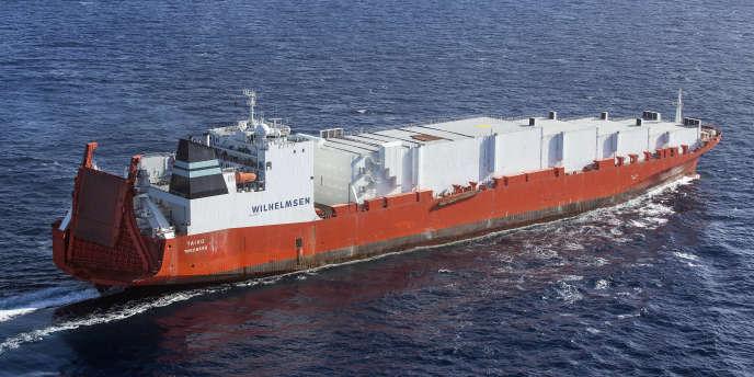 Le navire norvégien