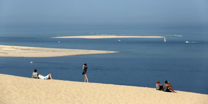 La dune du Pilat, près du bassin d'Arcachon.