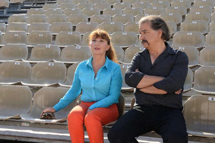 Ariane Ascaride et Gérard Meylan dans le film français de Robert Guédiguian,