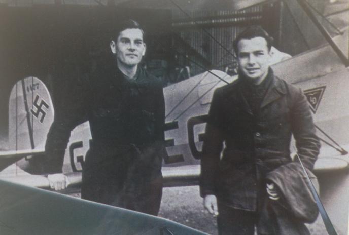 Denys Boudard à gauche.