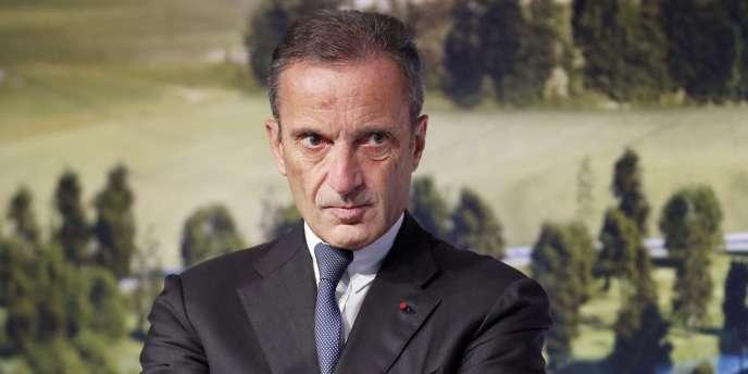 Henri Proglio va être nommé lundi 22 décembre président de Thales. Ici en octobre 2013, à Saclay (Essonne).
