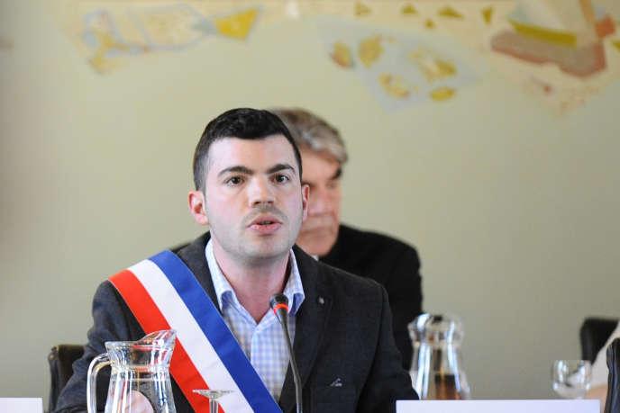 Fabien Engelmann, le maire Front national d'Hayange (Moselle).