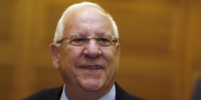 Réouven Rivlin, défenseur de la colonisation, devient le 10e président d'Israël.