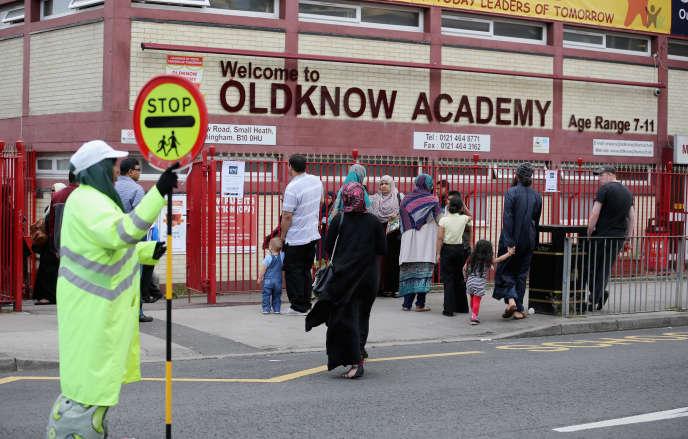 Oldknow Academy, l'une des six écoles publiques de Birmingham accusées d