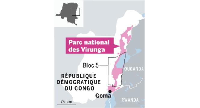 Parc des Virunga.