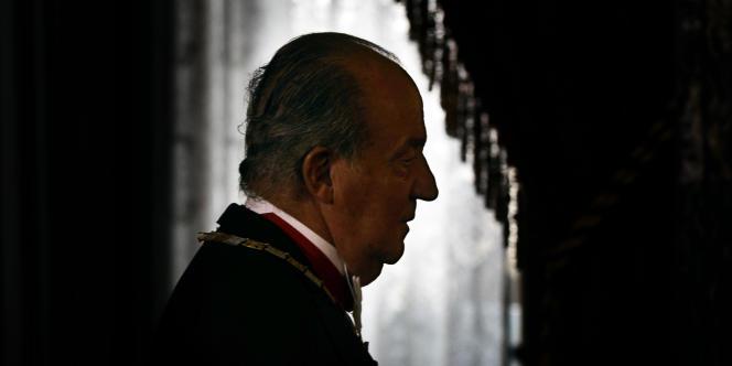 Le Parlement espagnol a accordé au roi Juan Carlos son immunité juridique, jeudi.