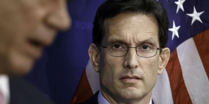 Le numéro 2 de la Chambre des représentants américaine, Eric Cantor, a été battu par un candidat du Tea Party lors d'une primaire, le 10 juin.
