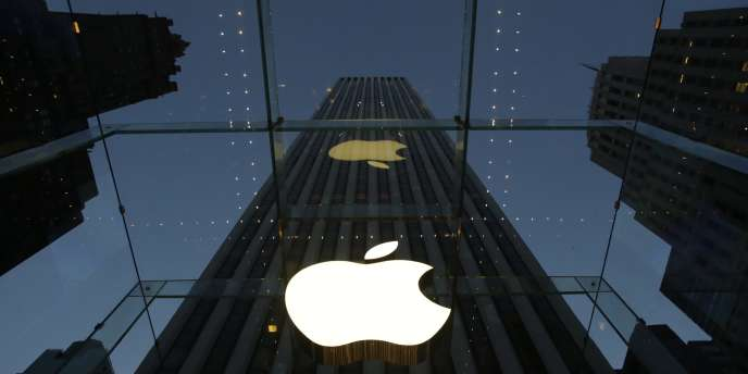 Un immeuble abritant un magasin Apple, sur la cinquième avenue de New York.