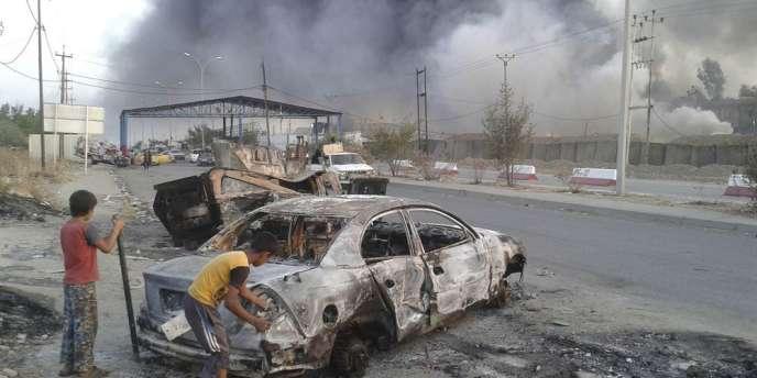 Les djihadistes de l'Etat islamique en Irak et au Levant se sont emparés mardi de la province de Ninive et de son chef-lieu, Mossoul, dans le nord de l'Irak.
