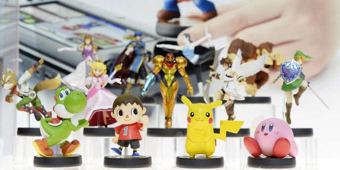 Les figurines Amiibos de Nintendo.